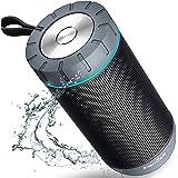 Altoparlante Bluetooth, COMISO Speaker Senza Fili Super-Portatile con Bassi Potenti, True altoparlanti Stereo Speaker con 36 ore di Riproduzione per iPhone, iPad, Samsung, grigio scuro