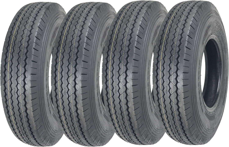 2 New ZEEMAX Heavy Duty Trailer Tires 205//90D15 7.00-15 8 Ply Load Range D 11066