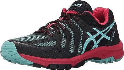 armario marrón Decir a un lado  Asics Gel-Fuji Attack 5 - Zapatillas de Running para Mujer, Negro  (Black/Pool Blue/Azalea), 12 B(M) US: Amazon.es: Zapatos y complementos
