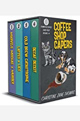 Coffee Shop Capers: Comics and Coffee Case Files Books 1-4 Kindle Edition