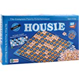 Ekta Housie Board Game with 48 Reusable Cards & Tile Fixable Board Game