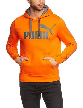 puma pullover orange