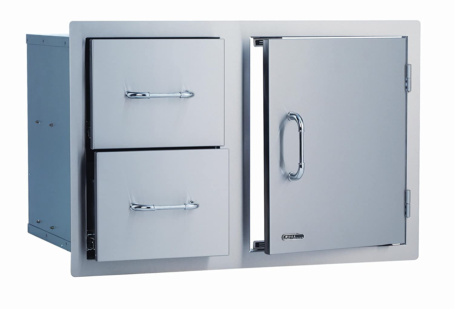 Amazon.com: Bull Stainless Steel Drawer And Door Combo, 33\