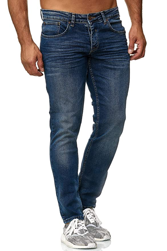 Elara Jeans de Hombre | Pantalones Slim fit Denim | Estirar Estilo | Chunkyrayan