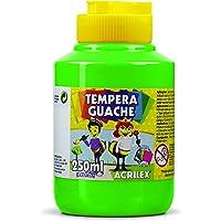 Tempera Guache 250 ml, Acrilex, 020250510, Verde Folha