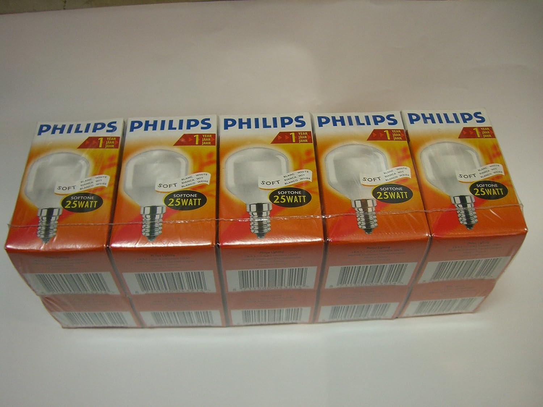 PHILIPS-LICHT bombilla 25 W E14 SOFTONE Mini blanco