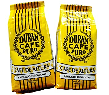 Best Panama Coffee Cafe Duran Cafe De Altura Molido Regular 1 Pound Freshly Imported Best Quality