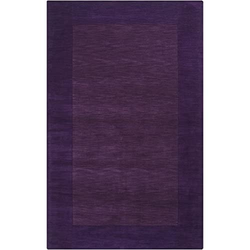 Surya M-349 Mystique Area Rug, 2-Feet by 3-Feet, Plum