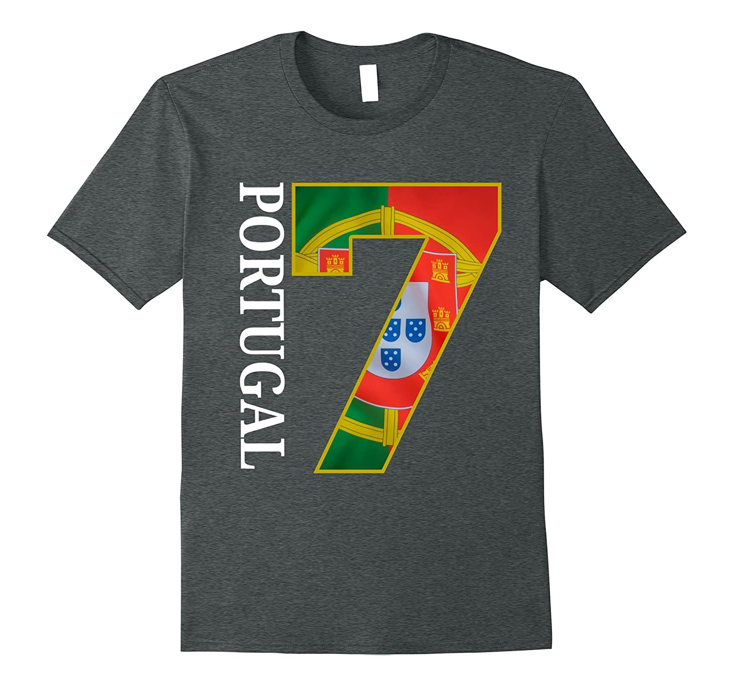 portugal t shirt soccer jersey shirt portugal flag number 7 vaci vaciuk. Black Bedroom Furniture Sets. Home Design Ideas