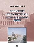 Codice dei Beni Culturali e del Paesaggio IV edizione
