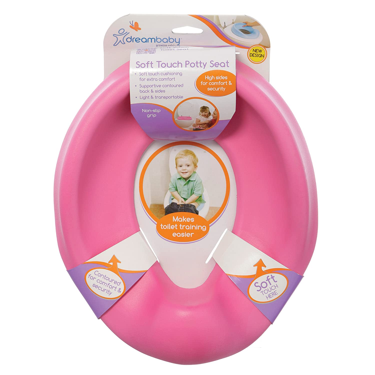soft touch toilet seat. Amazon com  Dreambaby Soft Touch Potty Seat Pink Toilet Training Seats Baby