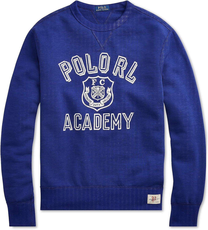 Polo Ralph Lauren Academy Crew Neck Yale - Sudadera con Forro ...