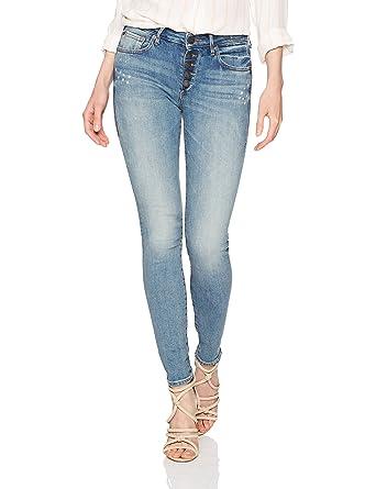 ac269e73b5 Amazon.com: True Religion Women's Jennie Mid Rise Curvy Skinny Jean ...