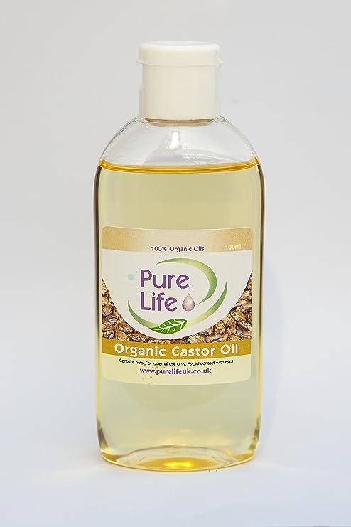 Orgánica Aceite de ricino prensado en frío, puro y natural ...