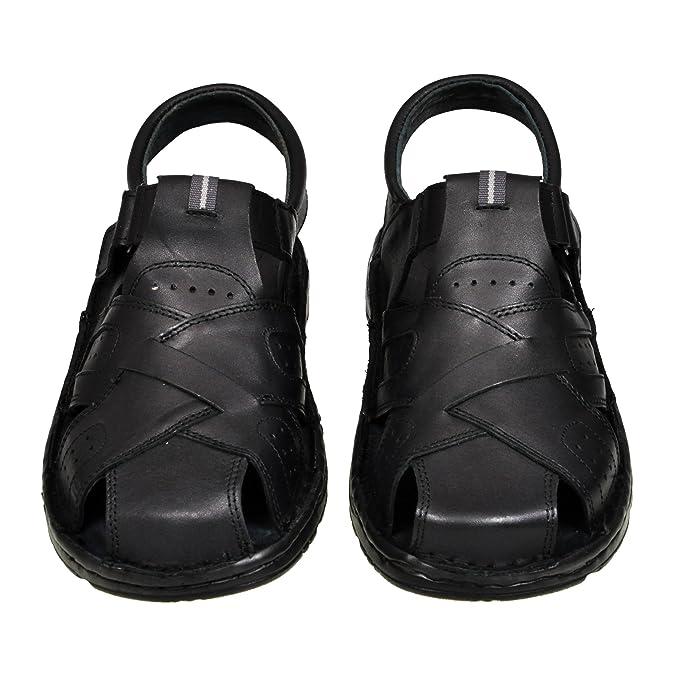 Herren Bequeme Sandalen Schuhe Mit Der Orthopadischen Einlage Aus Echtem Echtes Leder Hausschuhe 867