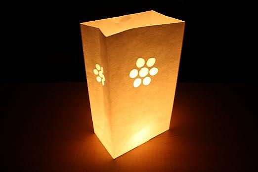 Trendario - Bolsas de papel ignífugo para velas, 10 unidades ...