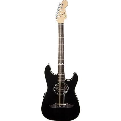 Fender Stratacoustic Standard Black · Guitarra acústica