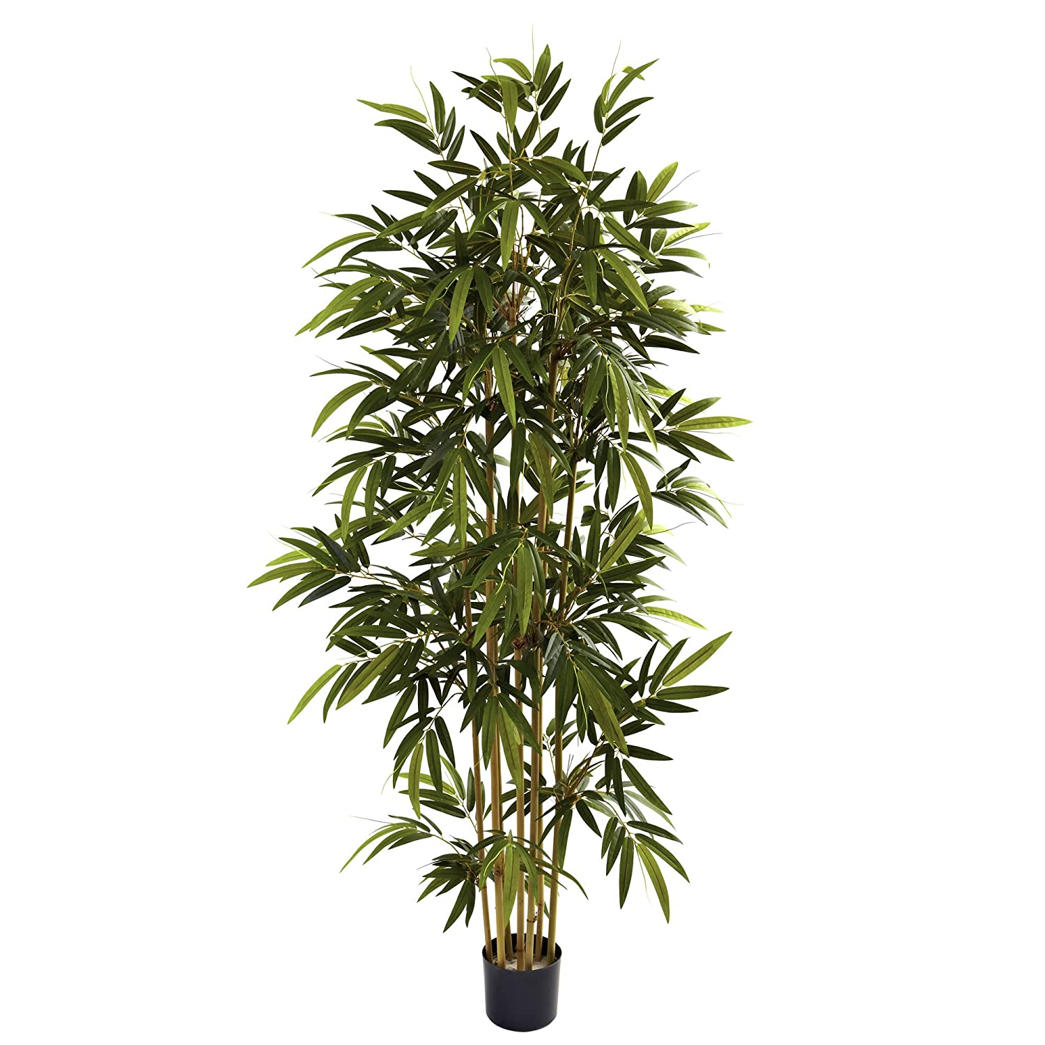 Nearly Natural 5362 Bamboo Tree, 6-Feet, Green