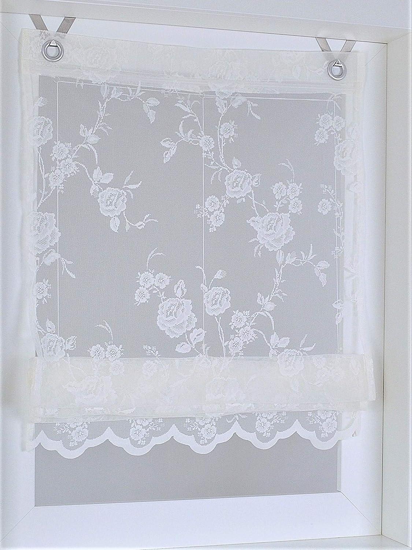 Kutti Raffrollo /Ösenrollo Florence Rose /Öse 45 x 130 cm
