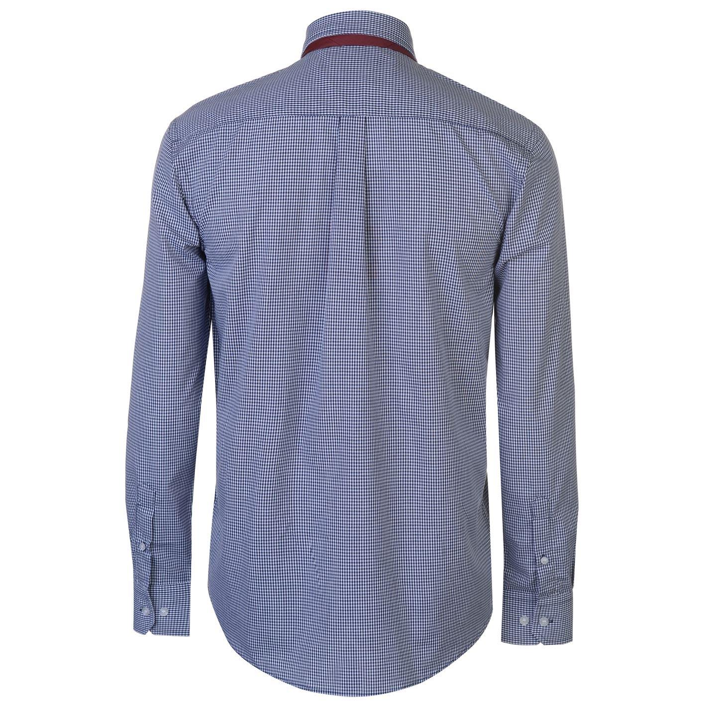 Pierre Cardin Mens Shirt Tie Set Long Sleeve Casual Regular Fit