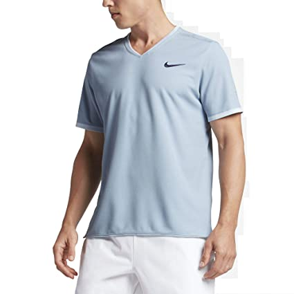 44caa32e681 Image Unavailable. Image not available for. Color: Nike Men's NikeCourt RF  Dry ...