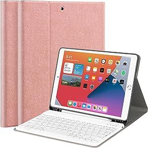 iPad Keyboard Case for iPad 8th/7th Generation 10.2