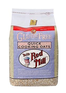 Copos de avena sin gluten de cocción rápida ...