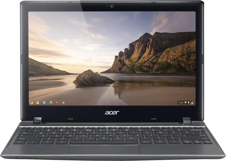 Acer Chromebook NX.SHEAA.004 11.6-Inch Netbook (Gray) (Renewed)