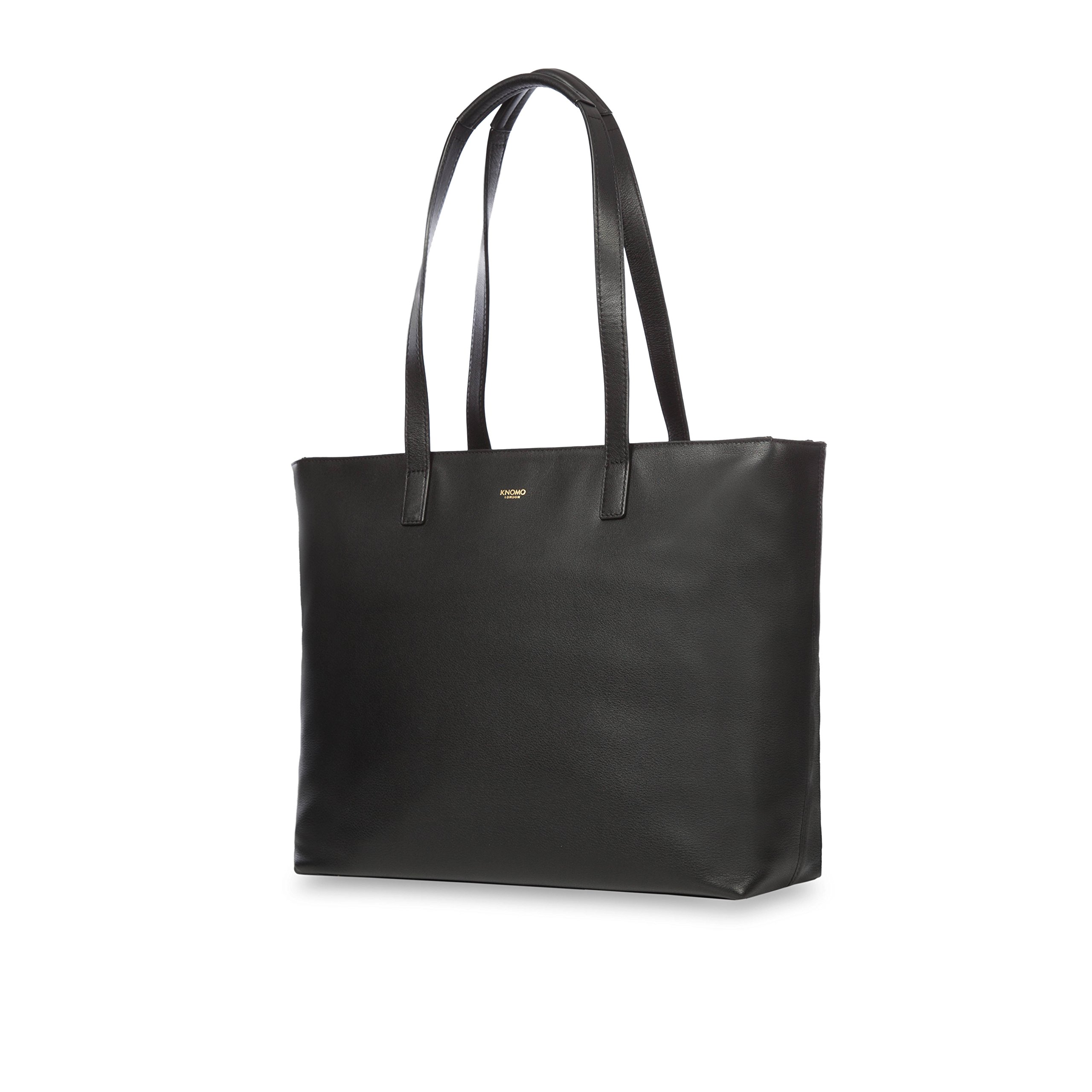 Knomo Luggage Women's Maddox Travel Shoulder Bag, Black, One Size