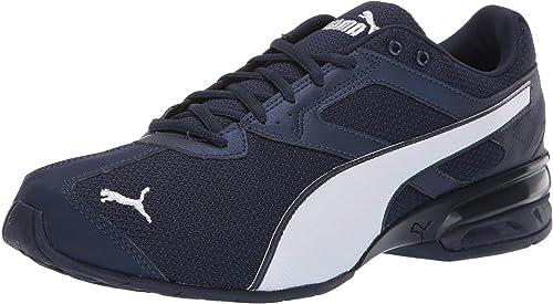 puma men's tazon 6 fm running shoe – wide in socks