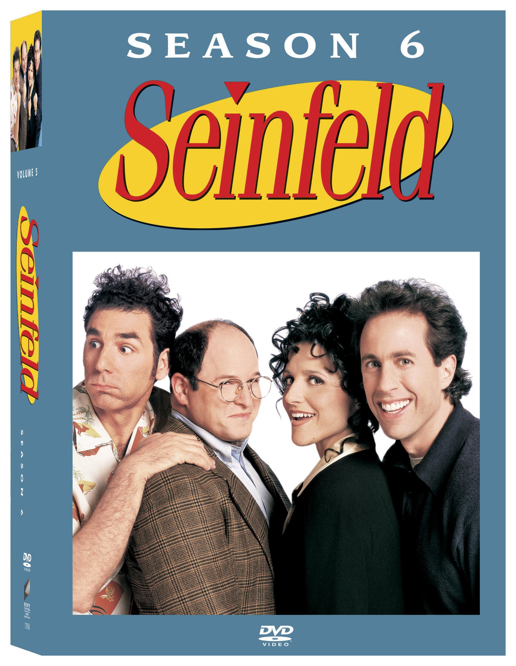 DVD : Seinfeld: The Complete Sixth Season (Boxed Set, Full Frame, , 4 Disc)