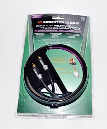 Monster 250DCX Digital Coax Audio Cable 4m (13.12ft)