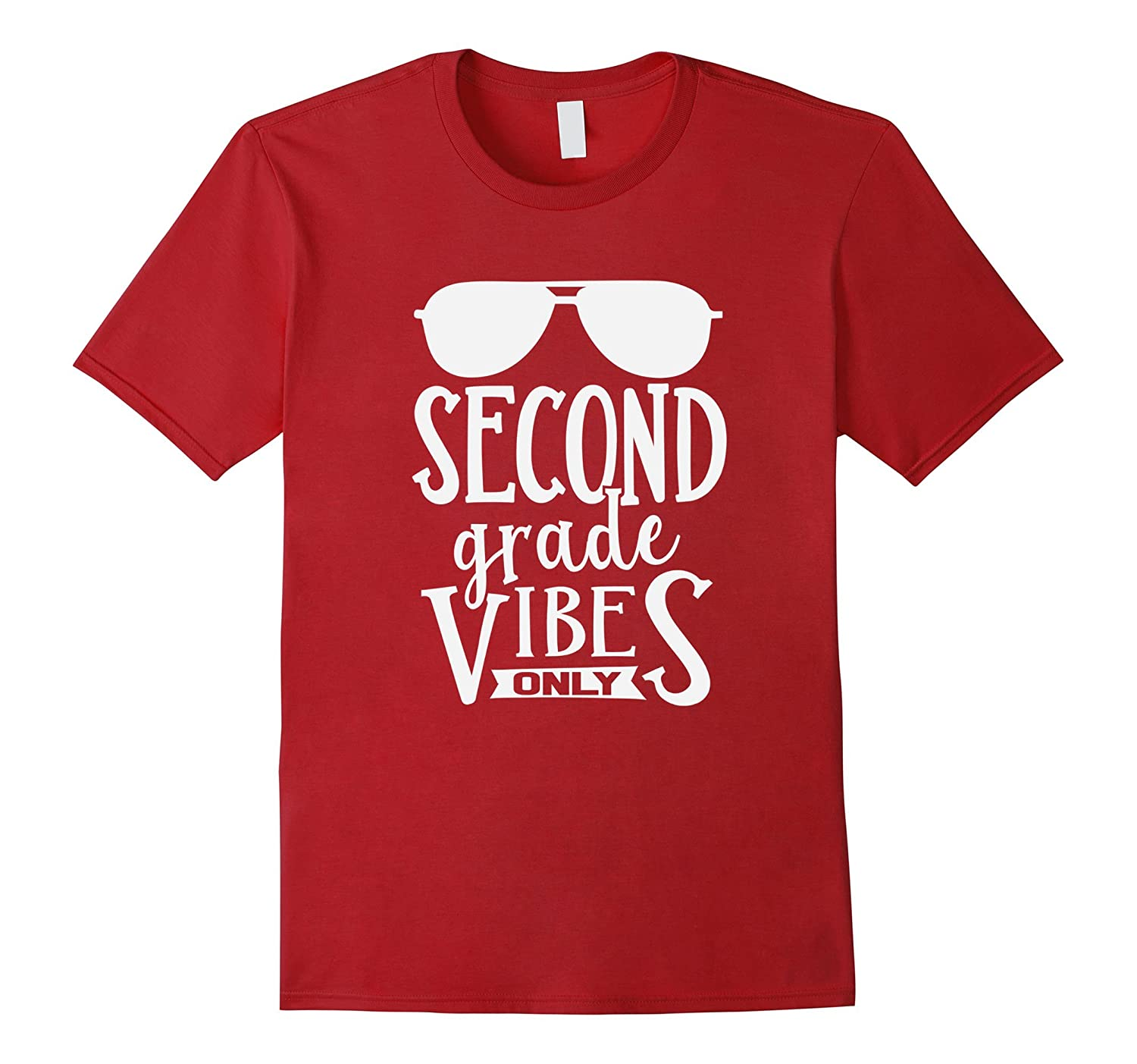 2nd Second Grade Vibes Only Back To School Boys Kids T-Shirt-Art
