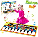 HOMOFY Piano Music Mat, Kids Early Educational Toys for 1 2