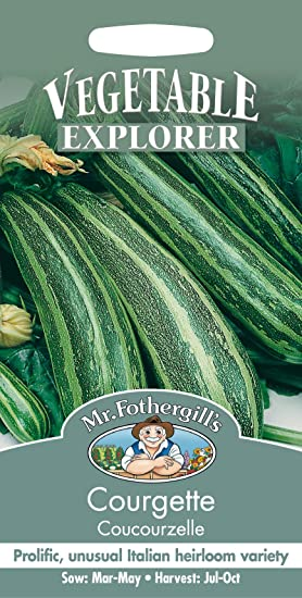 Mr Fothergill?s Seeds Ltd 13864 - Semillas para verduras (calabacín): Amazon.es: Jardín