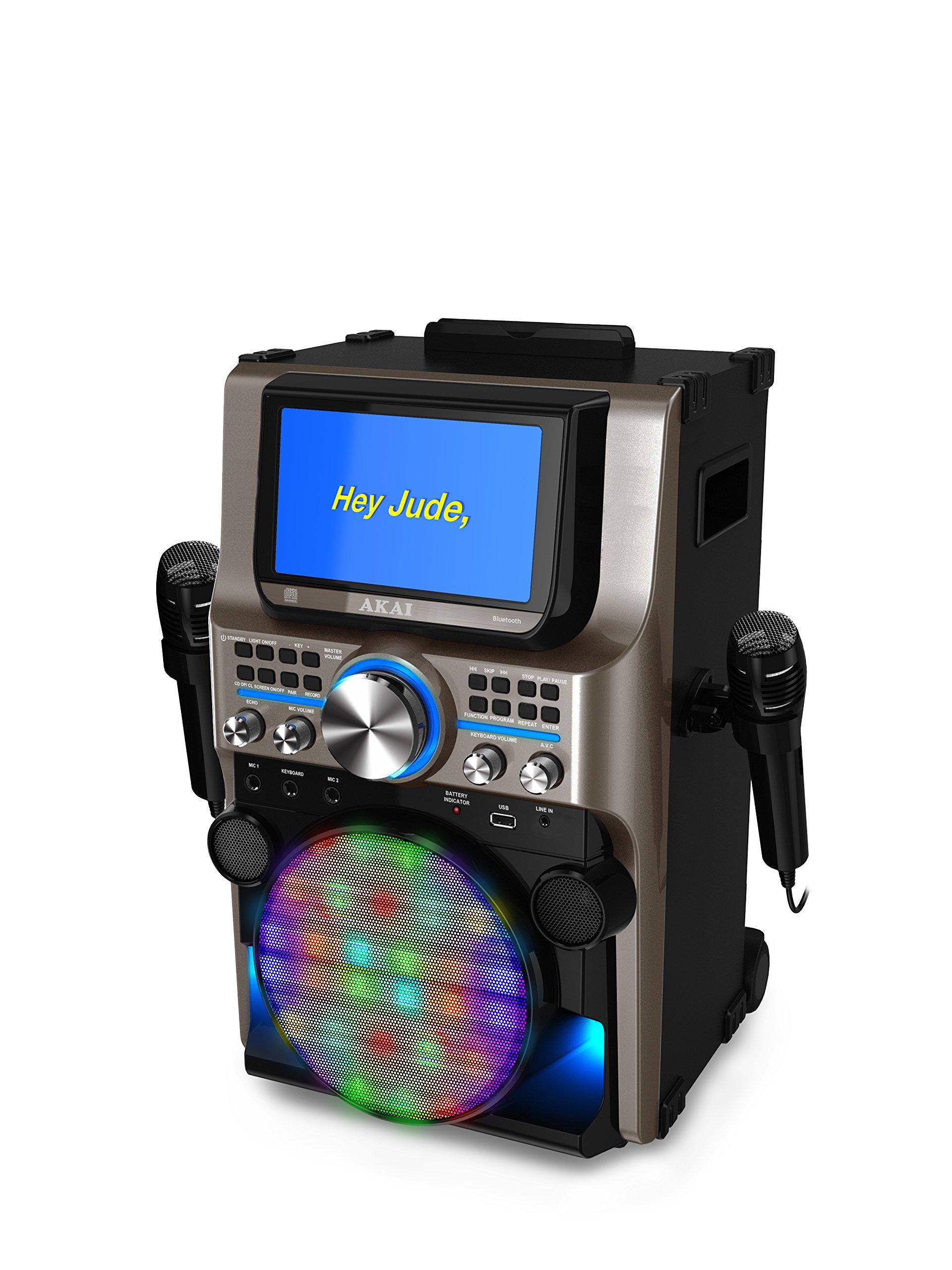Akai KS838-BT The Ultimate Bluetooth Party Machine, 7'' by Akai (Image #3)
