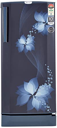 Godrej 190 L 5 Star Direct Cool Single Door Refrigerator(R D EPro 205 TAI 5.2 BRZ BLU, Breeze Blue, Inverter Compressor)