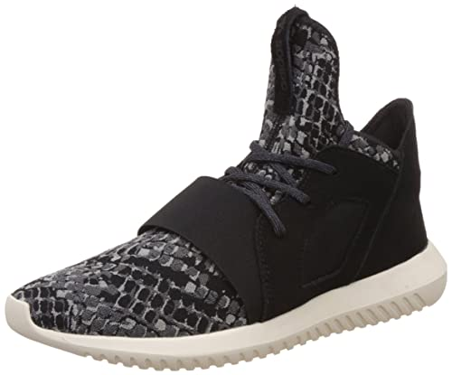 4675d74f4a2f adidas Originals Women s Tubular Defiant W Cblack and Cwhite Leather  Sneakers - 4 UK India
