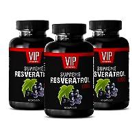 Immune Pills - Supreme RESVERATROL Complex 1200 MG - Premium ANTIOXIDANTS - Natural...