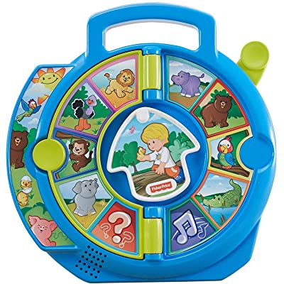 Fisher-Price Little People World of Animals See 'n Say: Toys & Games