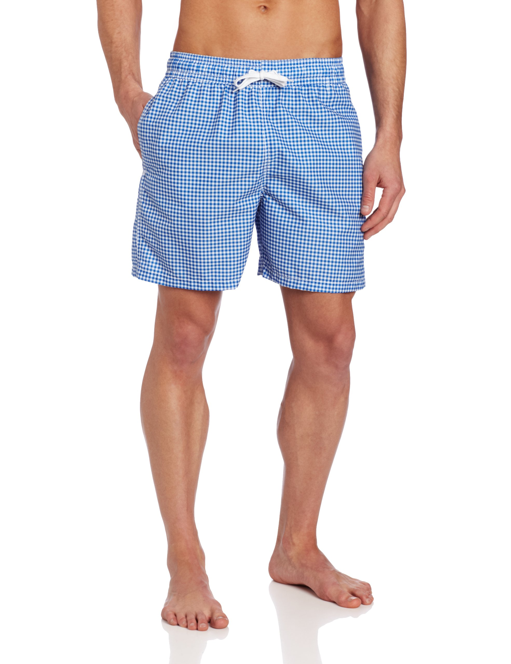 Kanu Surf Men's Monaco Swim Trunk, Royal, Medium