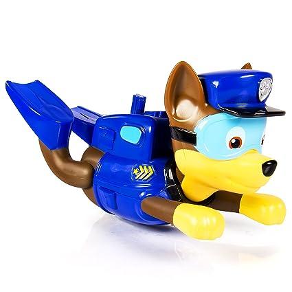 Amazon Com Paw Patrol Bath Paddlin Pup Chase Toys Games