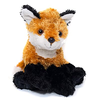 "10"" Fox Stuffed Animal - Ultra Soft Fox Plush Designed With Superior Softness – Perfect Size Fox Plushie Toy - Easy To Carry & Snuggle - Realistic Cute Fox Toy - Bring A New Fox Home To Kids Ages 3+: Toys & Games"
