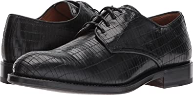 Aquatalia Men's Vance Black Woven Leather 9 M US