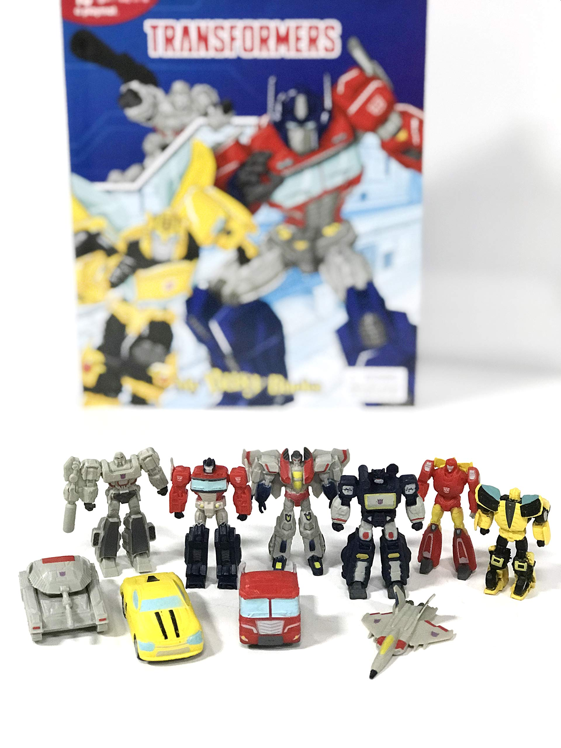10 Character Figurines Christmas Gift Kids Brand New Transformer My Busy Book