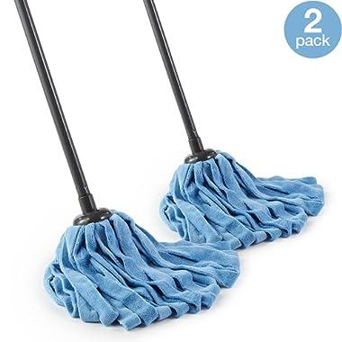 O-Cedar Microfiber Cloth Mop (Microfiber Cloth Mop, Pack - 2)