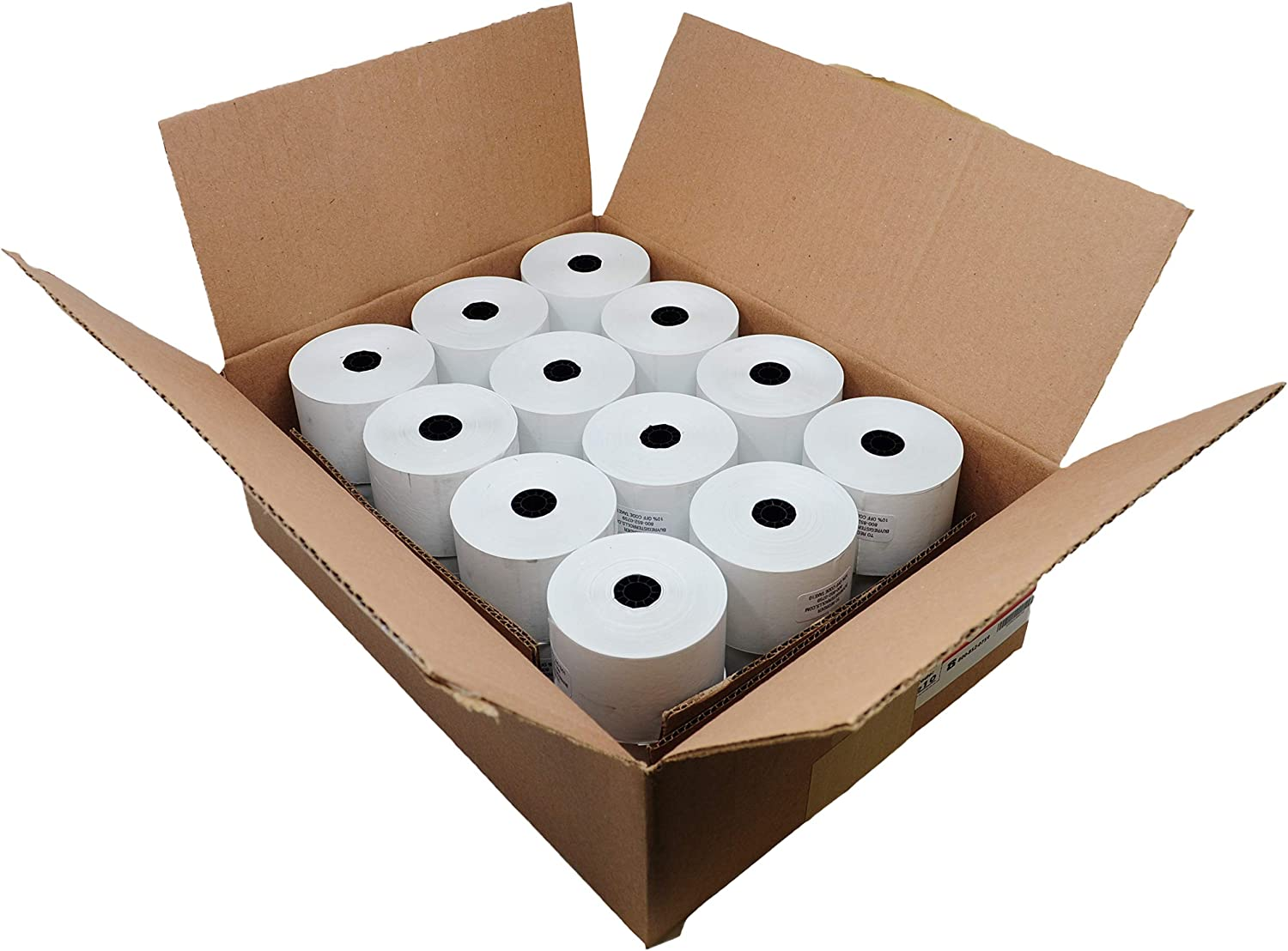 24 Rolls 2 5//16 x 356 Thermal Paper for Gas Station from BuyRegisterRolls