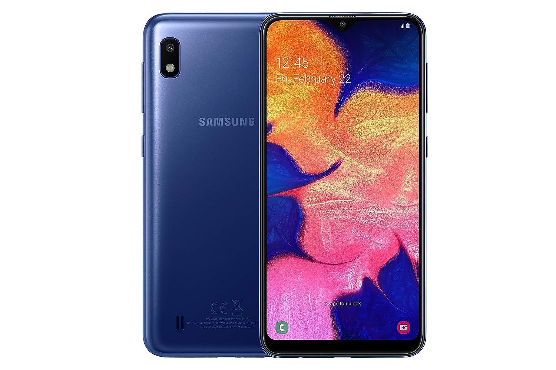 Samsung Galaxy A10 Dual-SIM 32GB 6 2-Inch HD+ 13MP Camera Android 9 Pie UK  Version Smartphone – Blue