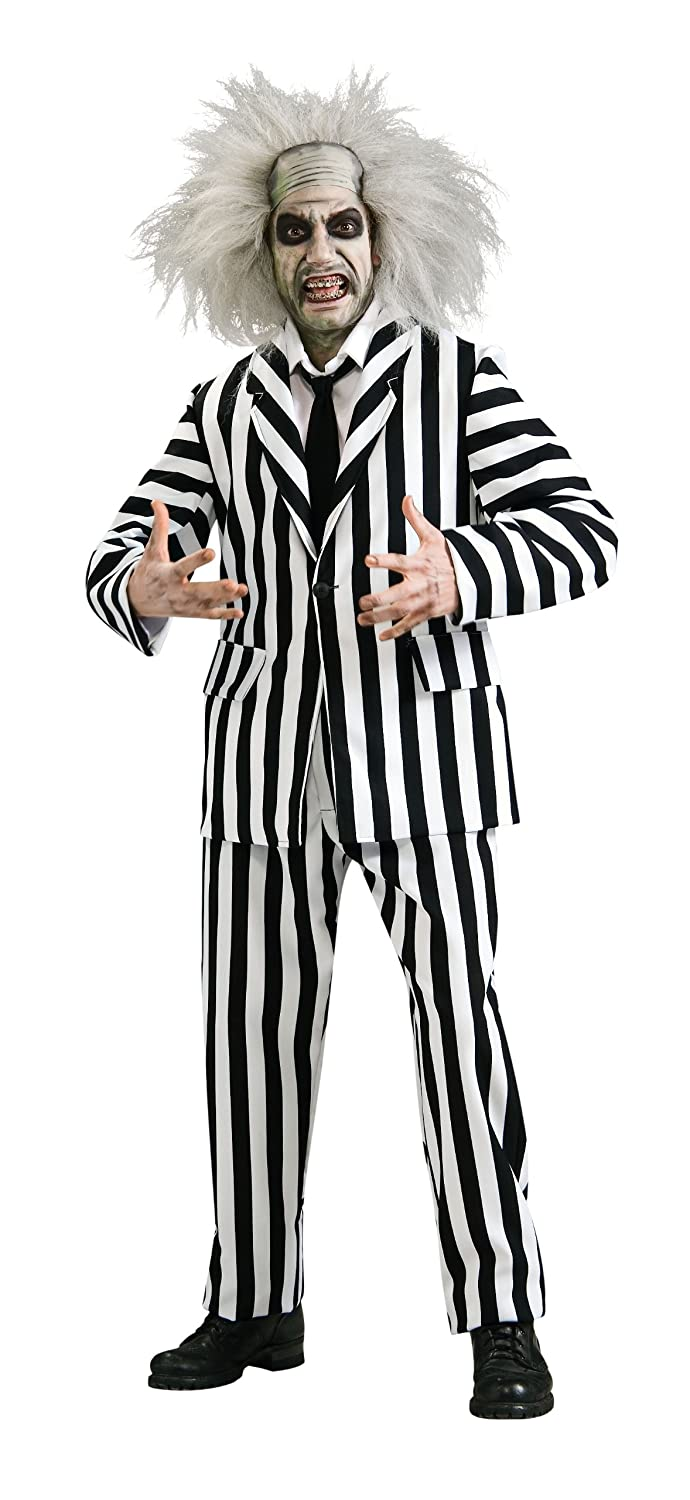 Amazon.com Rubieu0027s Beetlejuice Grand Heritage Collection Deluxe Costume Black/White Standard Clothing  sc 1 st  Amazon.com & Amazon.com: Rubieu0027s Beetlejuice Grand Heritage Collection Deluxe ...