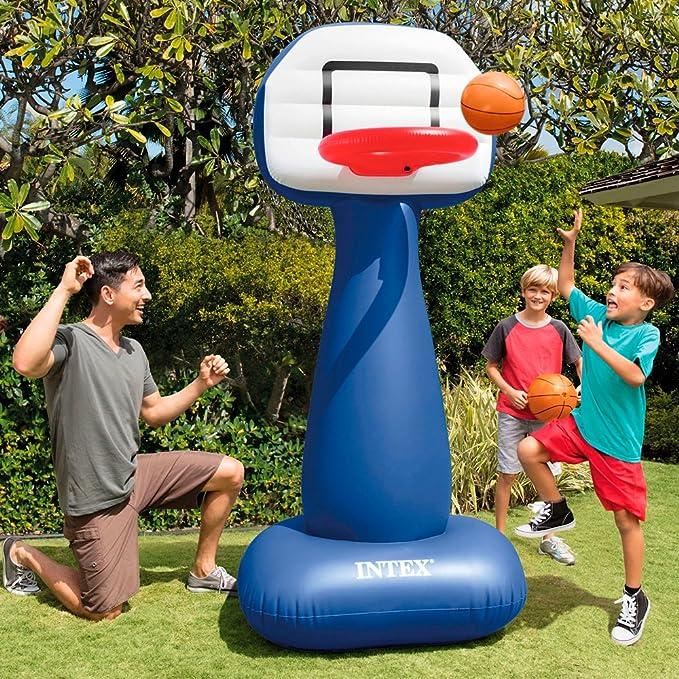 Intex 57502NP - Canasta basket hinchable 104 x 97 x 208 cm: Amazon.es: Juguetes y juegos